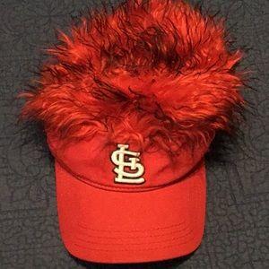 St Louis Cardinals Fuzzy Hat